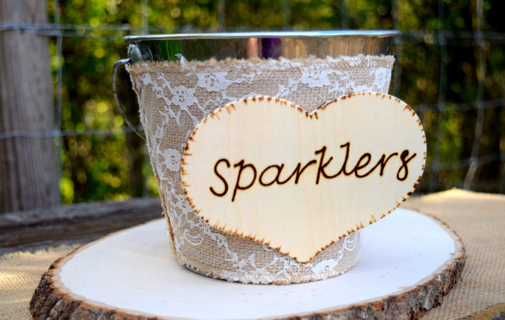 Using Smokeless Wedding Sparklers Indoors